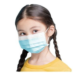 3-Ply Disposable Child Face Mask ( Kids Ages 4-12 ) - Level 3 ASTM